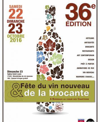 Fête du vin nouveau et de la brocante 2016