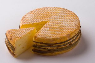 Fromage Livarot - Tranche