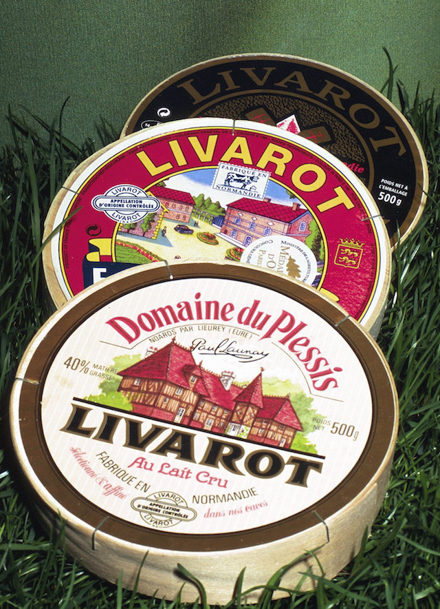 Fromage Livarot (c) Fromages Livarot (Normandie) Cl J Weber CC BY 2.0