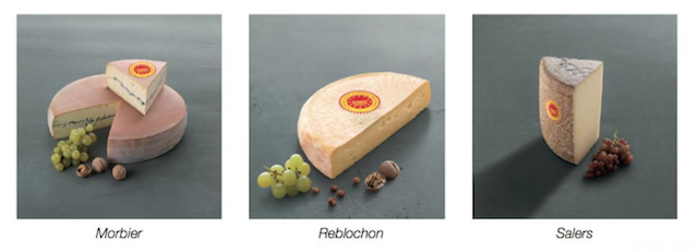 Morbier - Reblochon - Salers