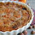 Tarte aux abricots et aux noisettes