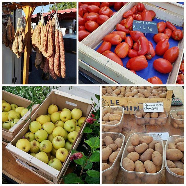 Marché de Brive la Gaillarde - très beaux produits et de vrais producteurs