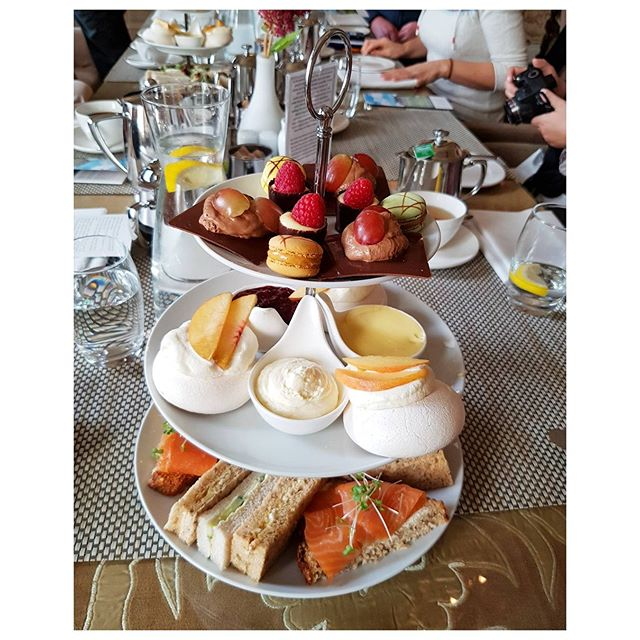 High tea - Castle Durrow