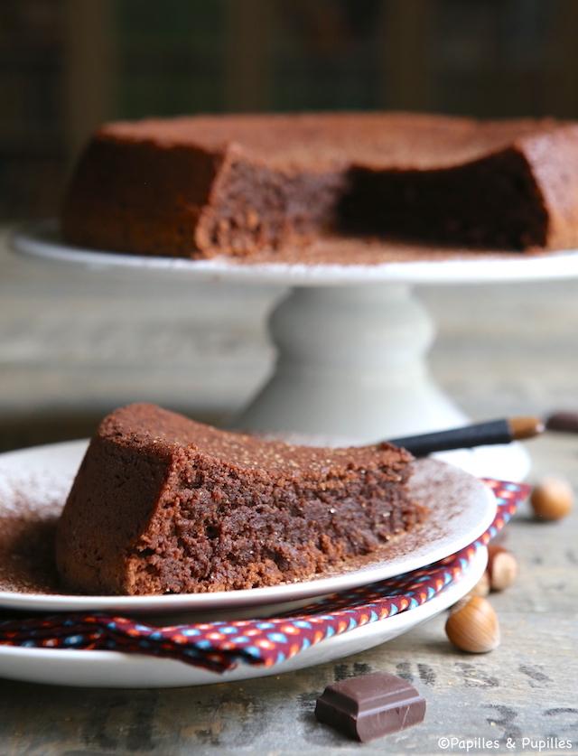 G teau au chocolat et noisettes sans farine - Gateau au chocolat sans farine ...