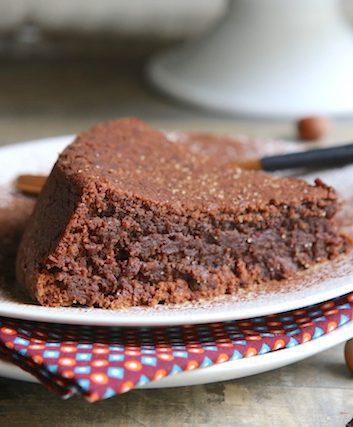 Gâteau chocolat noisettes sans farine