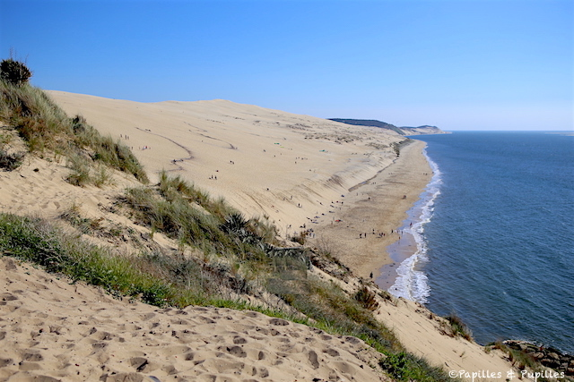 Marcher dans le sable