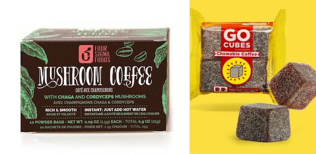 Mushroom Coffee et Go Cubes
