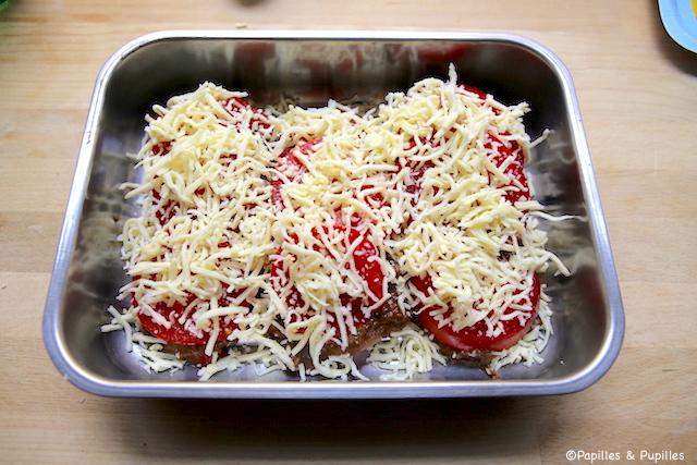 On ajoute la mozzarella