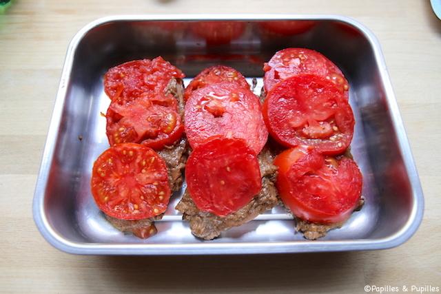 On ajoute les tomates