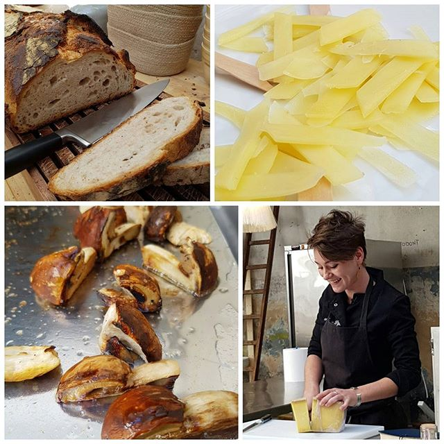 Du pain, du vin, du Comté et une jeune chef talentueuse Marie Dijon, What else ?