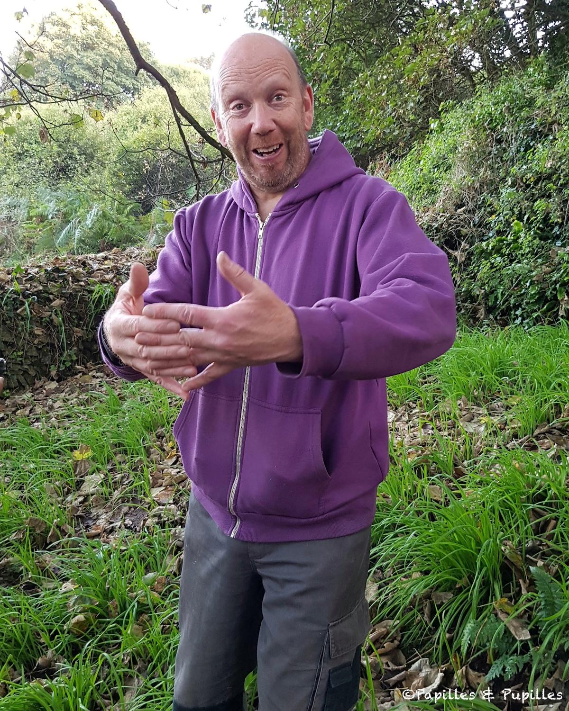 Andrew Malcom, cueilleur (champignons, fleurs, plantes)