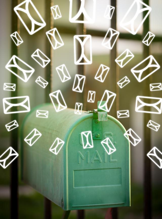 Boîte aux lettres (c) Shutterstock