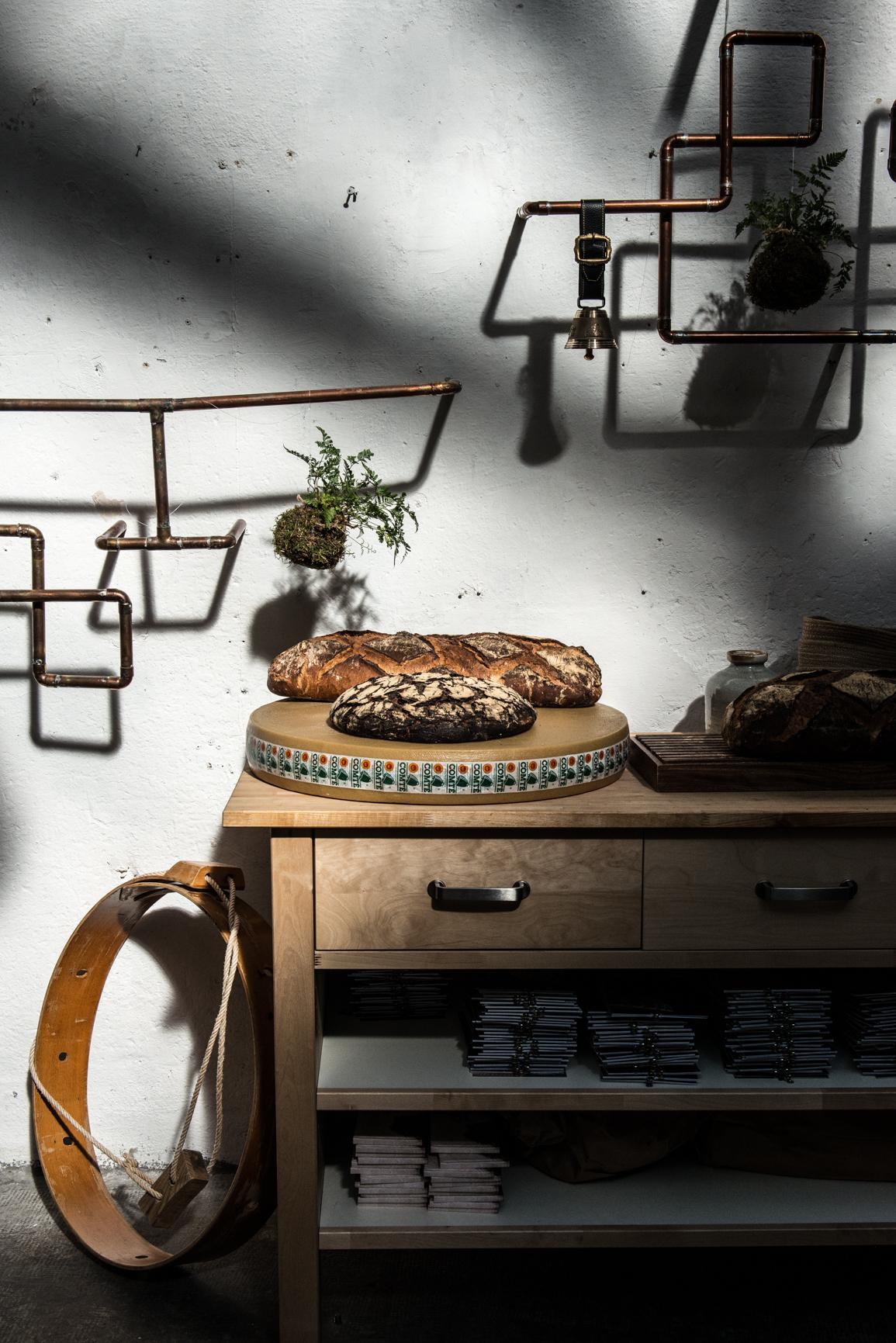 Les pains de Pierre Ragot - La Table du Comté - Marseille (c) Olivier Marie - goutsdouest.fr
