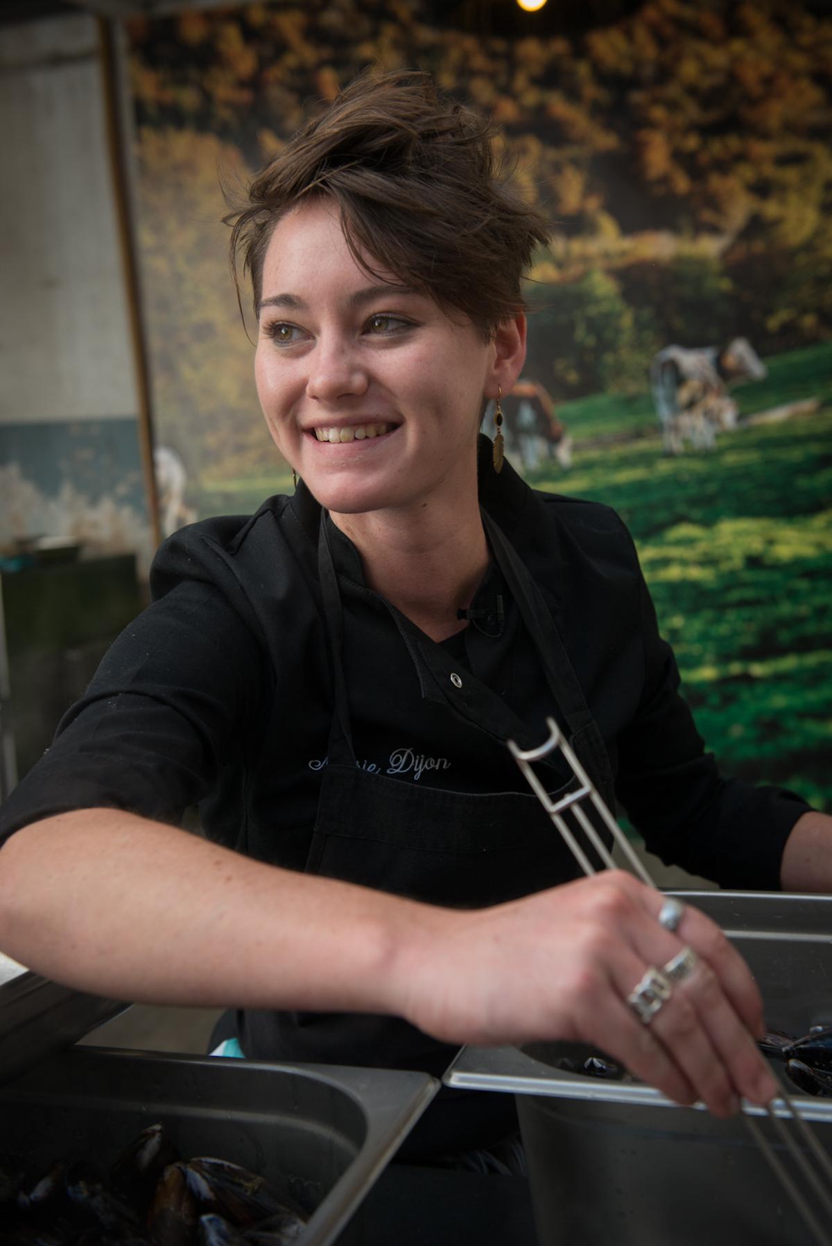 Marie Dijon aime cuisiner et cela se voit (c) Olivier Marie / goutsdouest.fr