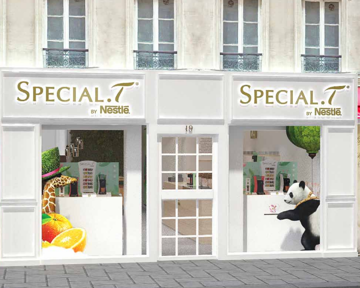 Salon de thé éphémère Special T