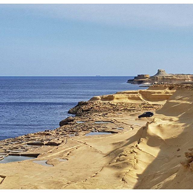 Comme un air de Monument Valley non ? Île de Gozo, Malte