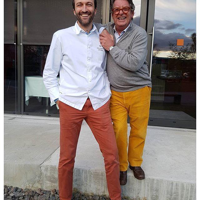 Dream Team : Cedric Béchade de l'auberge Basque  et Jean Pierre Xiradakis - La Tupina