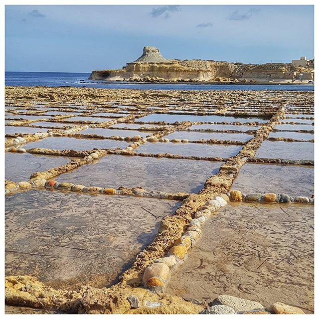Les salines de Malte