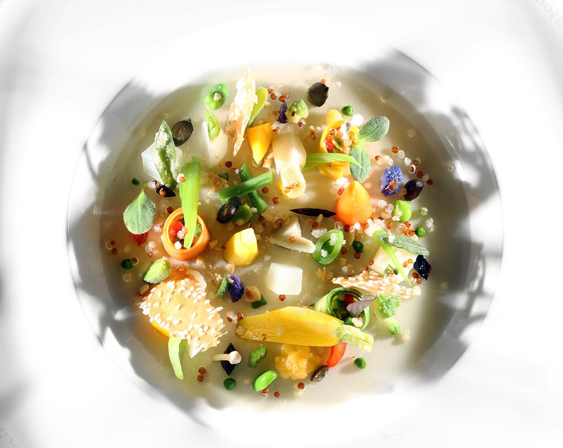 Assiette végétale - Bocuse d'or