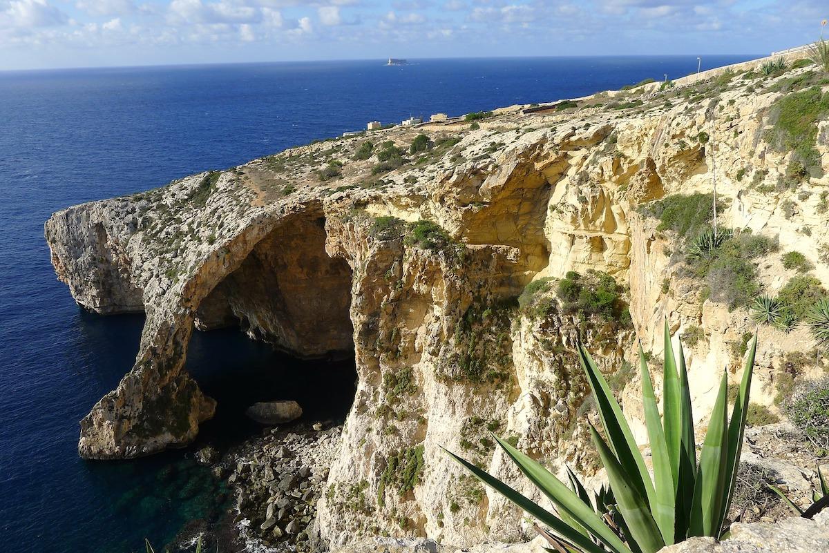 Blue Grotto, Gozo, Malte