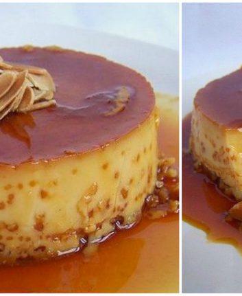 Crème caramel sans gluten