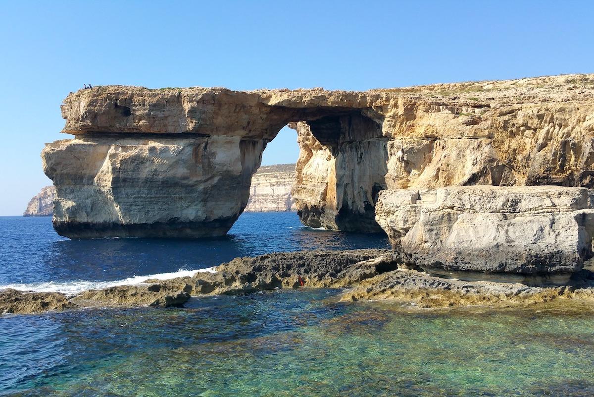 Fenêtre azur, Gozo