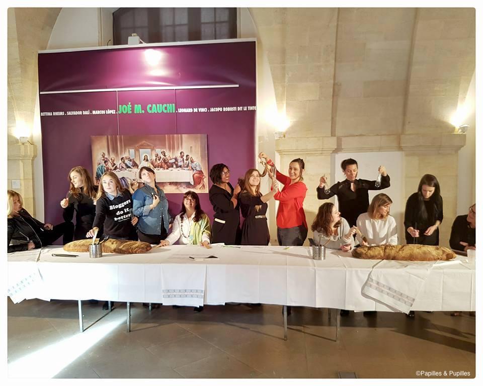 La cène des blogueuses - Bordeaux So Good. novembre 2016