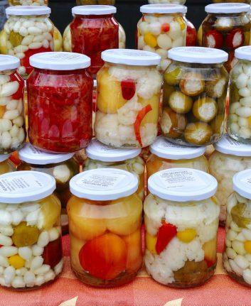 Légumes lacto fermentés