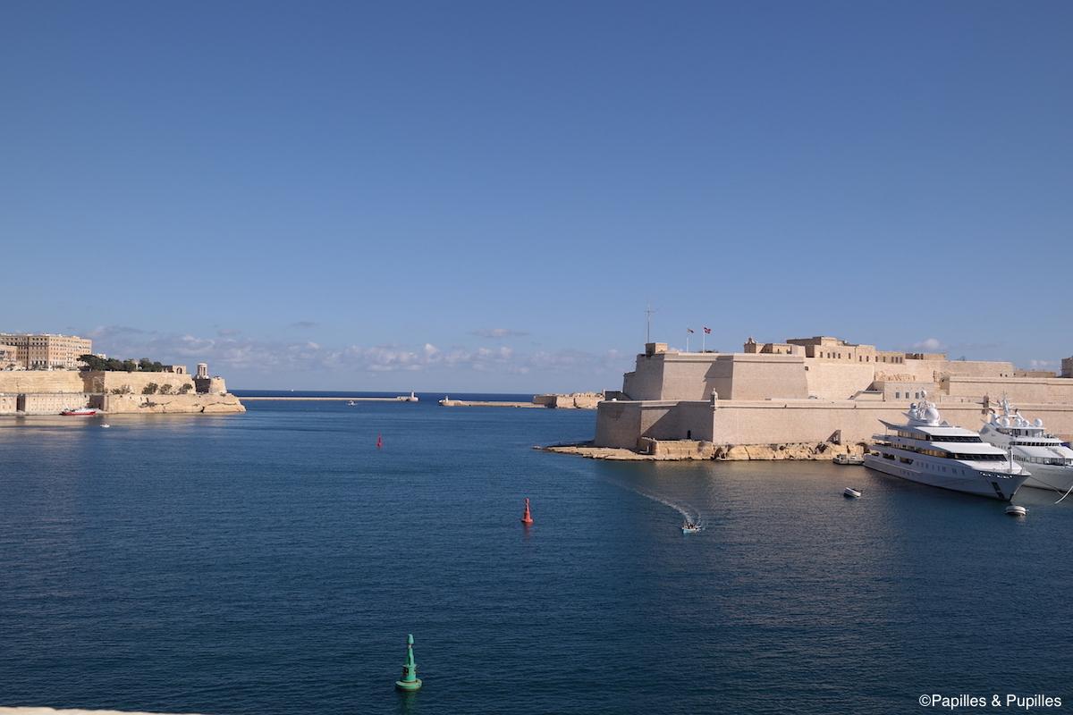 Le port de La Valette