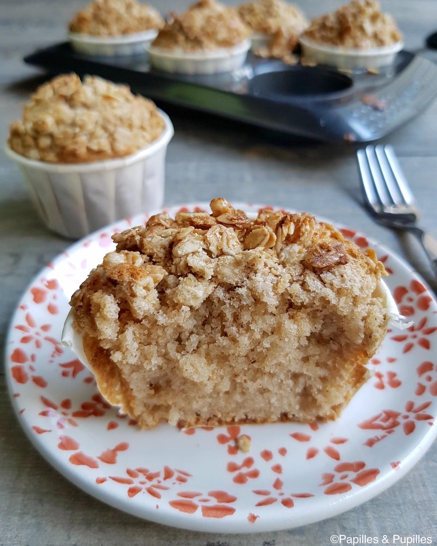 Muffins croustillants aux épices sans gluten