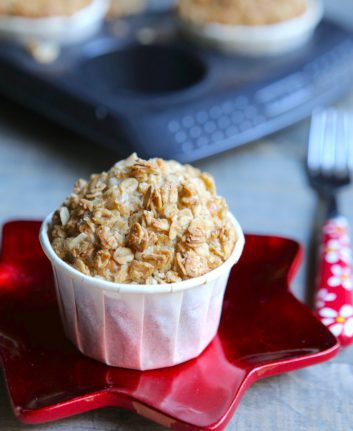 Muffins de Noël croustillants sans gluten