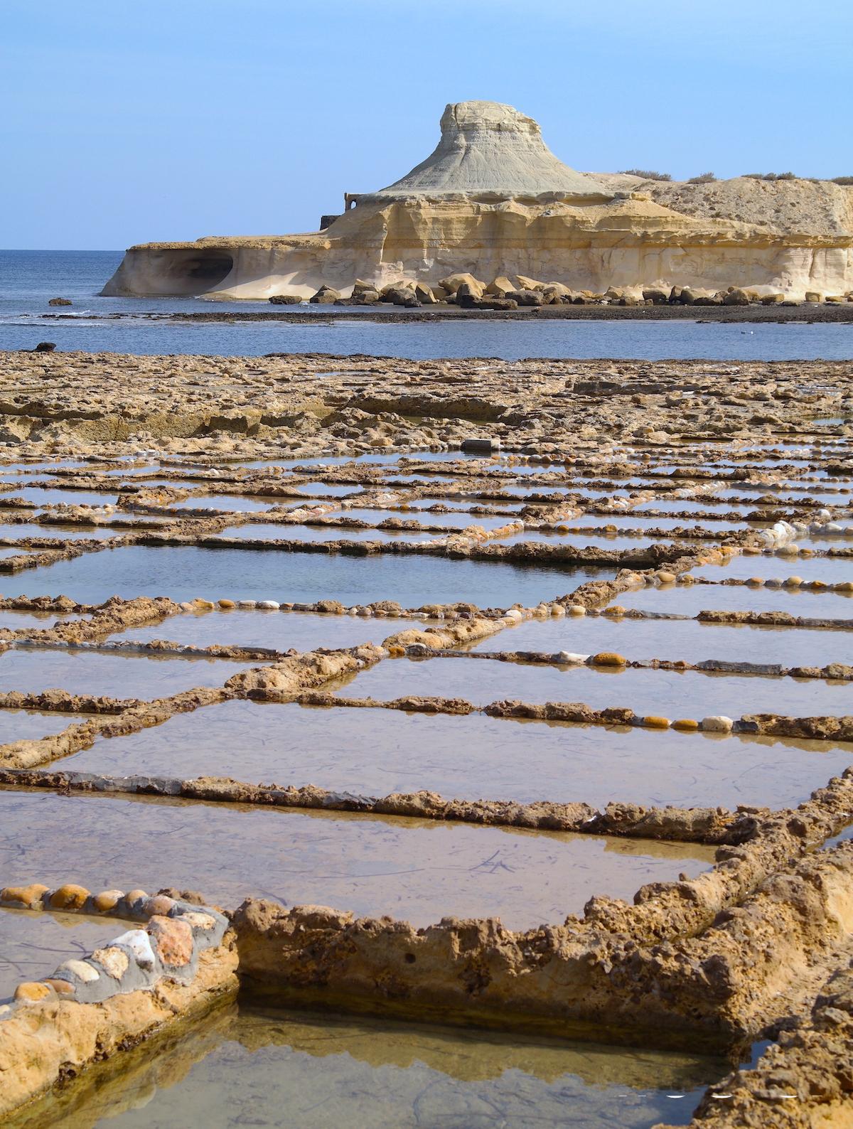 Les salines de Gozo, Malte
