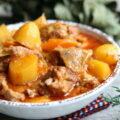 Sauté de veau aux carottes et aux pommes de terre