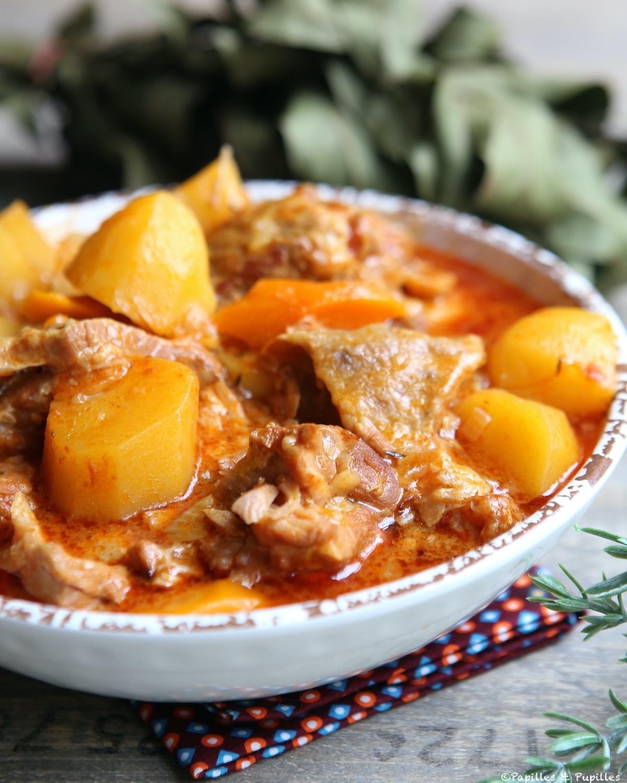 Sauté de veau facile aux pommes de terre et carottes