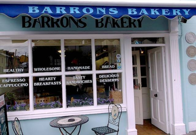Barrons Bakery (c) Kelly Robinson Facebook