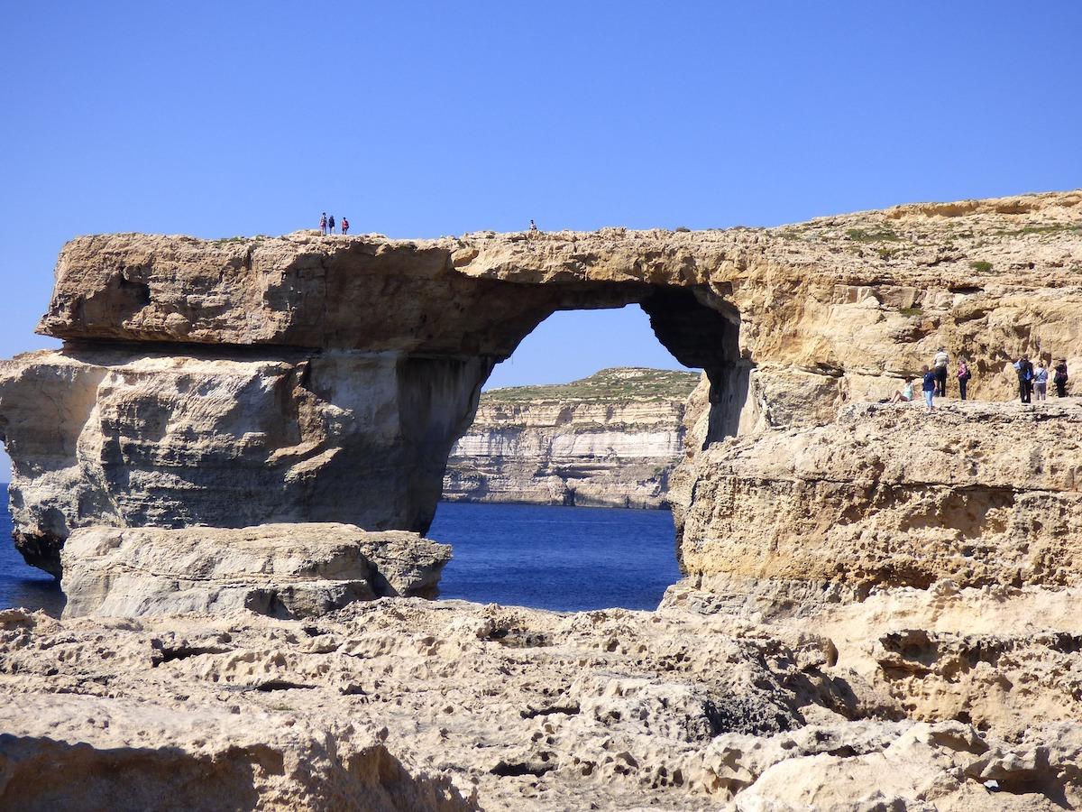 Fenêtre sur la mer - Gozo