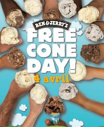 Free Cone Day 2017