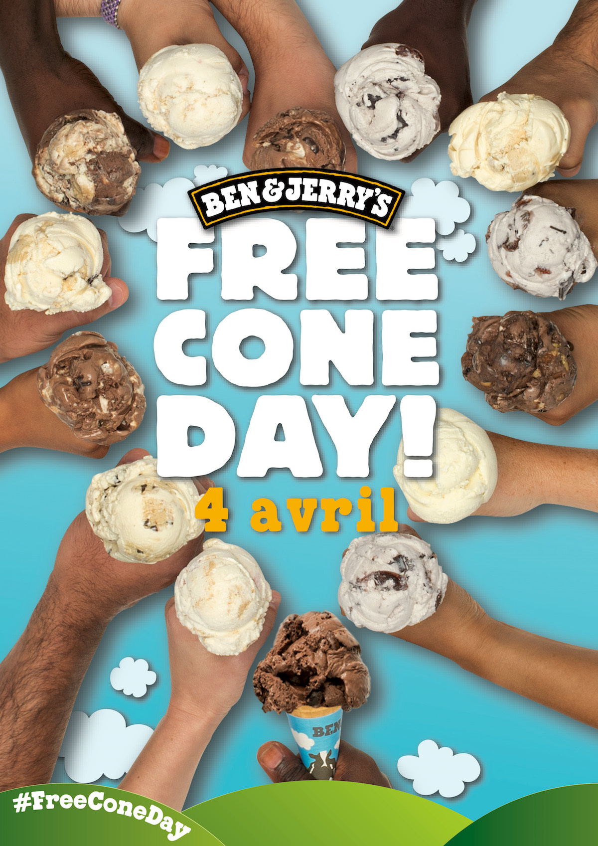 Free Cone Day 2017