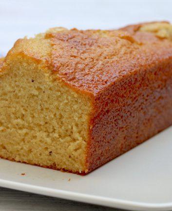 Gâteau coupé