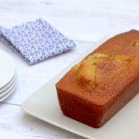 Gâteau à l'huile d'olive et vanille