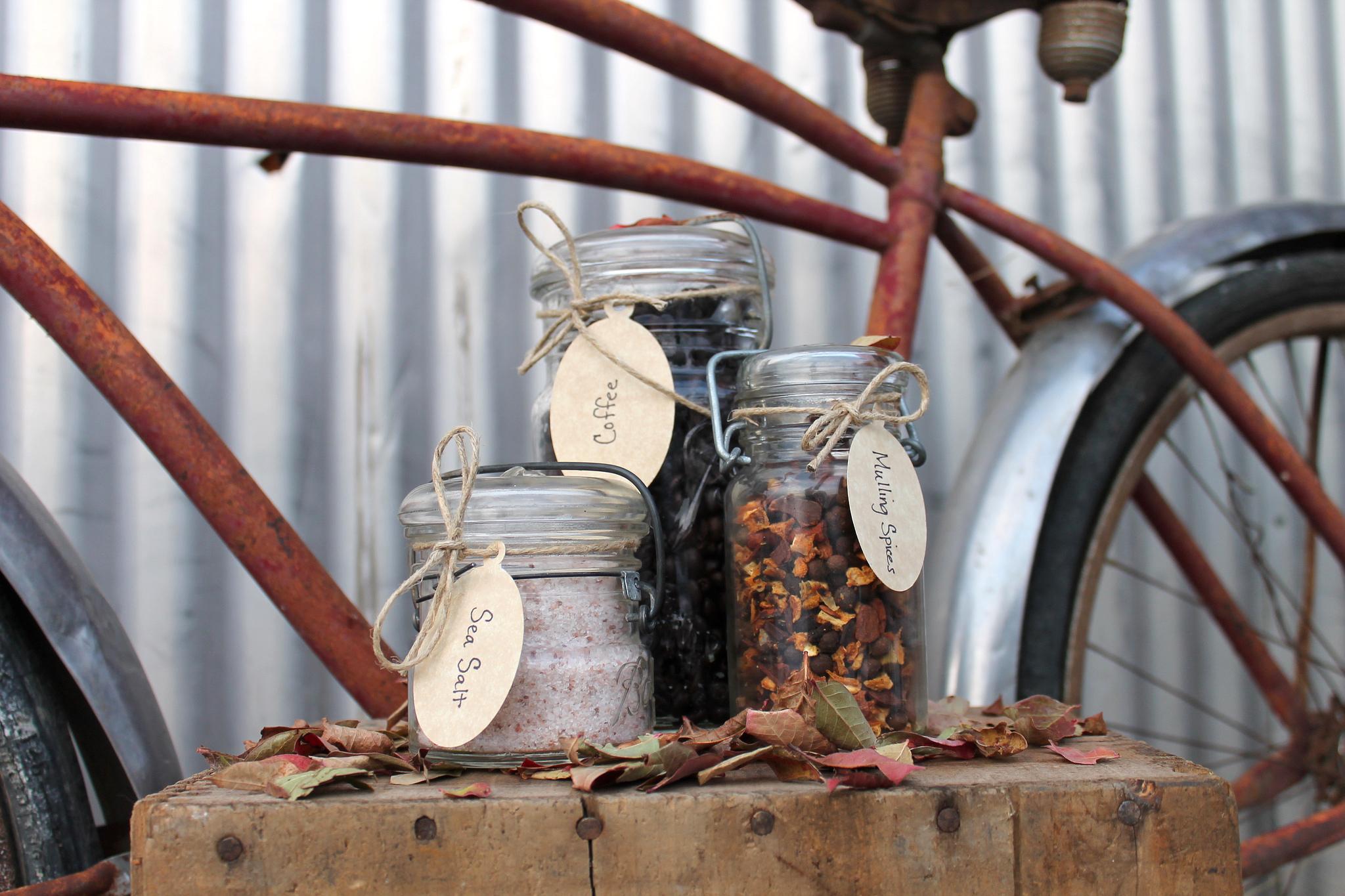 Mason Jar pots à épices (c) Nina Nelson CCBY20