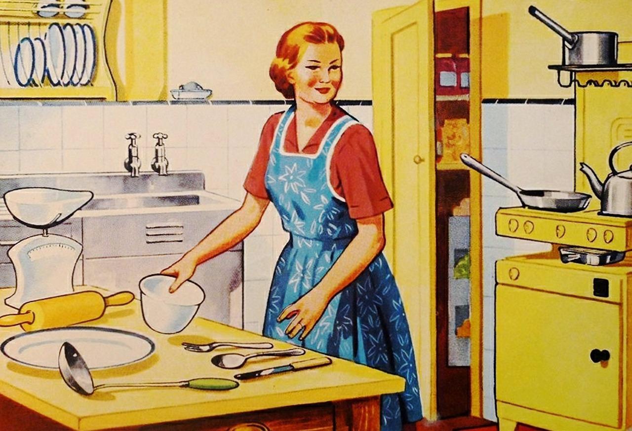 Préparation du repas (c) ArtsyBee CC0 Public Domain Pixabay