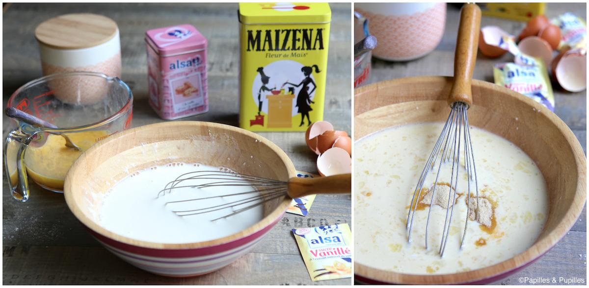 Préparation de la pâte à crêpes