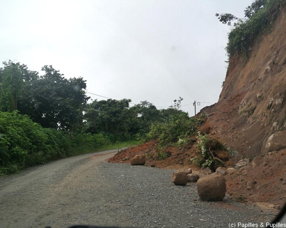 Route pour Monteverde