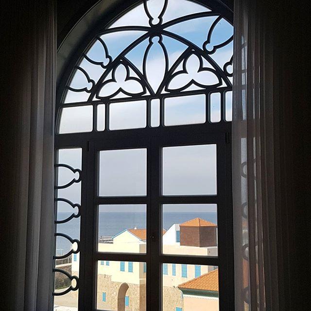 Vue sur la mer Méditerranée -Akko