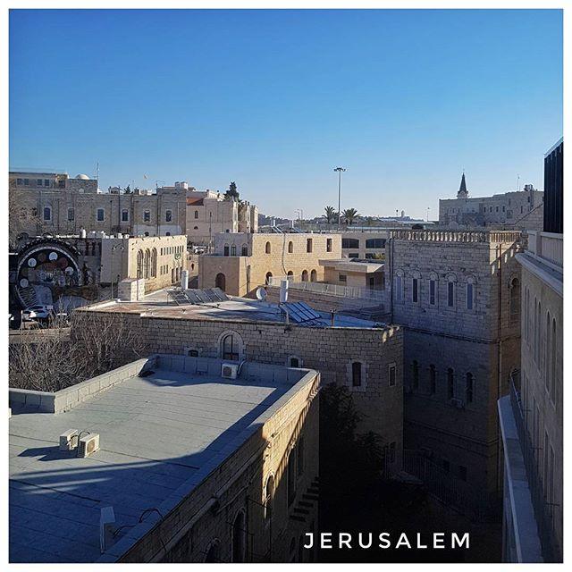 Lever de soleil - Jerusalem