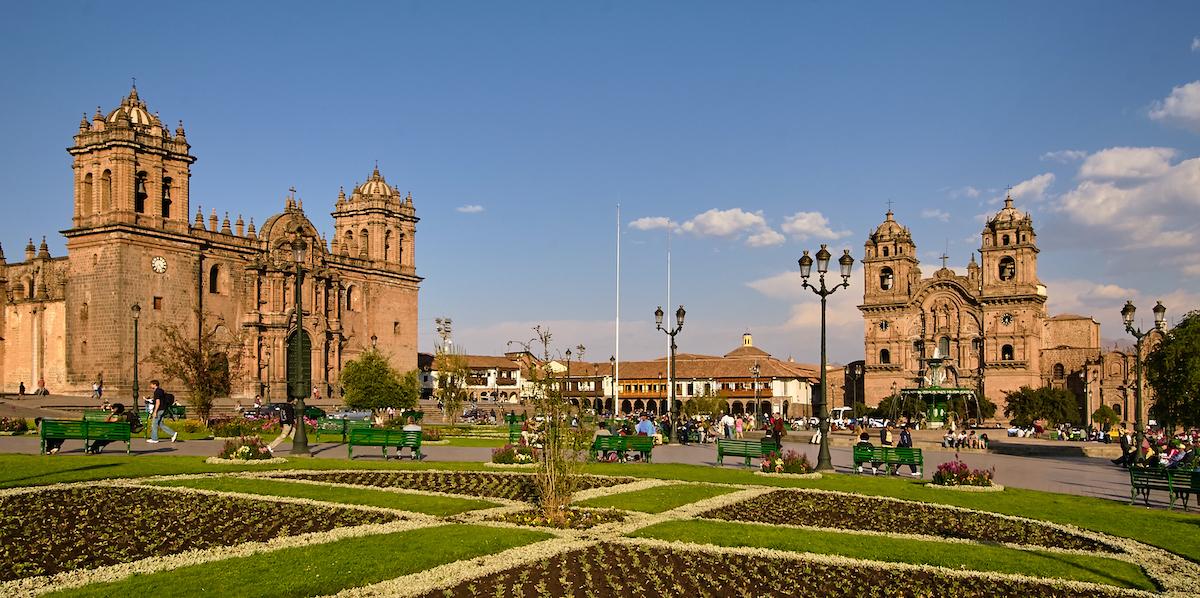 Cusco Place d'Armes ©Pedro Szekely CC BY-SA 2.0