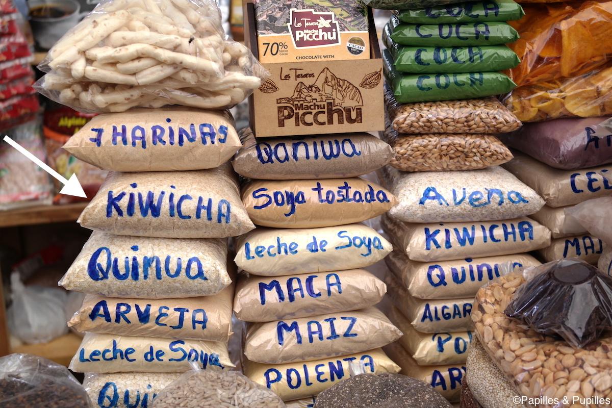Graines dont Kiwicha