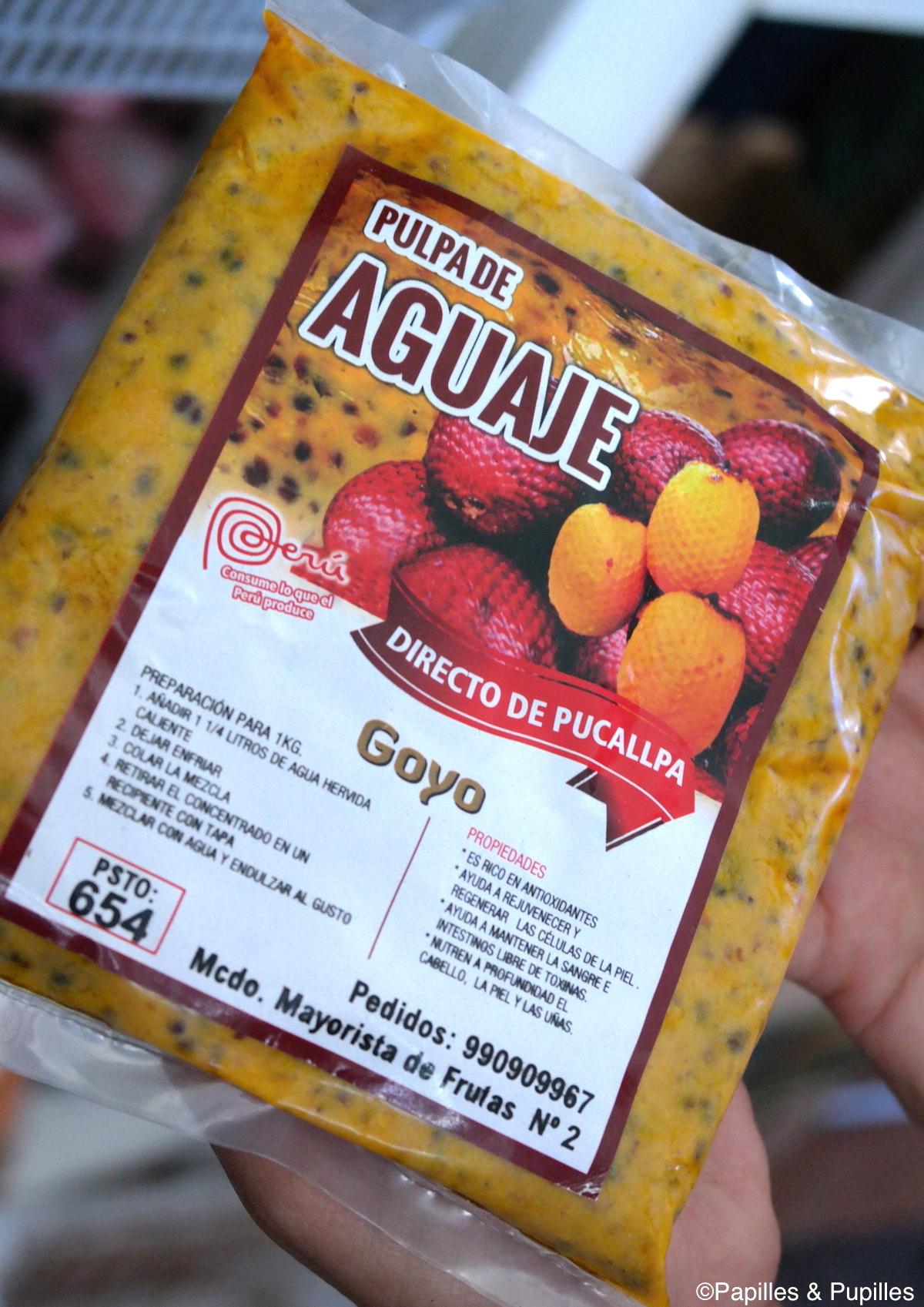 Pulpe d'Aguaje