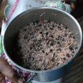 Riz aux haricots et au lait de coco